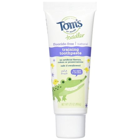 Tom's of Maine Toddlers Natural Toothpaste 3-Count Now $5.40 (Was $12.87)