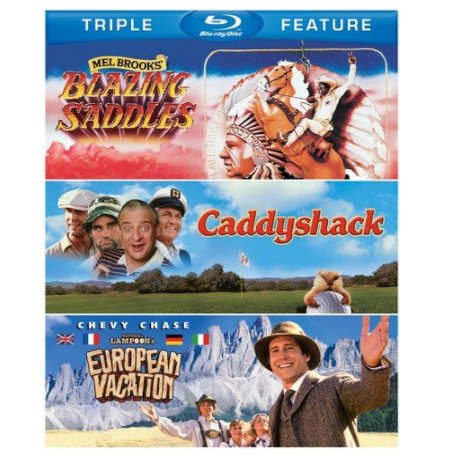 Blazing Saddles / Caddyshack / National Lampoon's European Vacation Now $10.07 (Was $18.94)