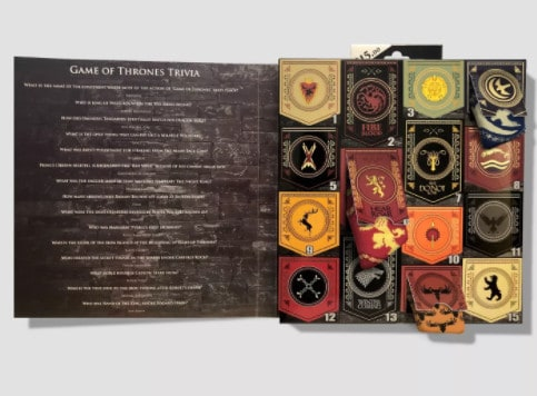Men's Game of Thrones 15 Days of Socks in a Box ONLY .50 (Was )