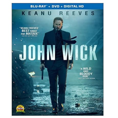 John Wick Blu-ray + DVD + Digital HD Now .09 (Was .99)