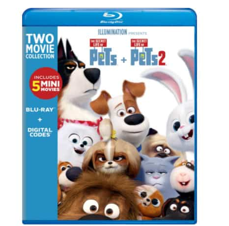 The Secret Life of Pets: 2-Movie Collection Blu-ray Now .99 (Was .98)