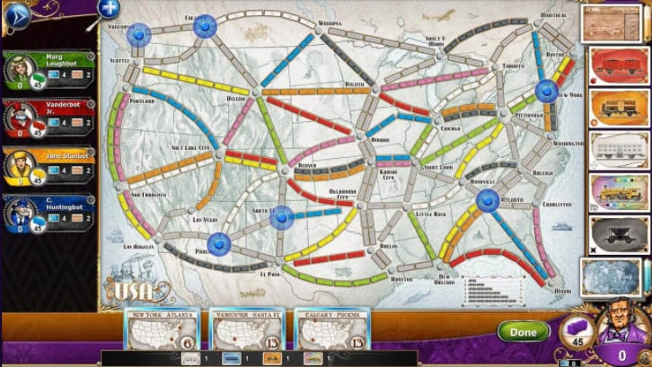 FREE Ticket to Ride and CarcasonnePC Games