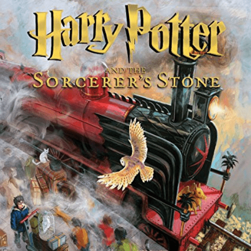 Harry Potter and the Sorcerer's Stone: The Illustrated Edition Now .97 (Was .99)