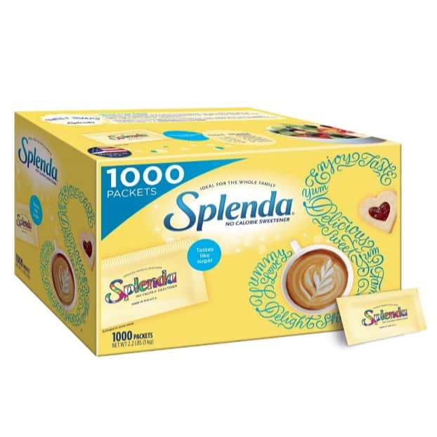 Splenda No Calorie Sweetener Value Pack (1000 Individual Packets) Now .64