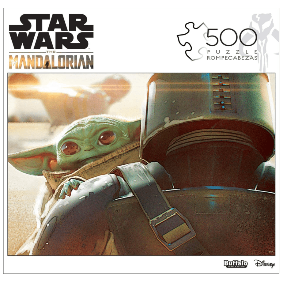 Star Wars - The Mandalorian - The Child - 500 Piece Jigsaw Puzzle Now .74