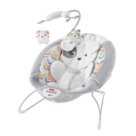 Fisher-Price Deluxe Sweet Dreams Snugapuppy Bouncer Now .18 (Was .99)
