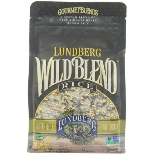 Lundberg Wild Blend Gourmet Wild Brown Rice 6-Pack Now .92 (Was .08)