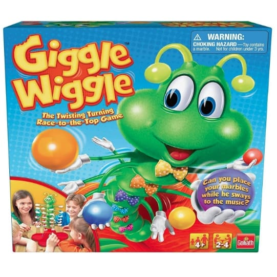 Goliath Giggle Wiggle Game Now .03 (Was .99)