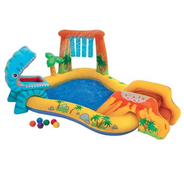 Intex Dinosaur Inflatable Play Center Now .99 (Was .99)