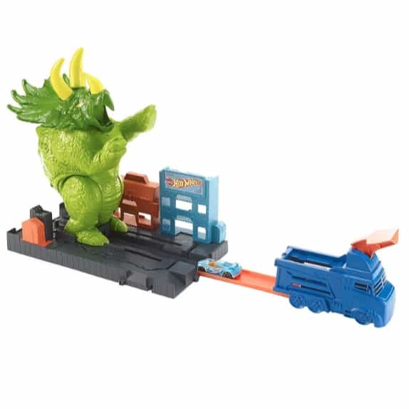 Hot Wheels Smashin' Triceratops Playset Now .65 (Was .99)