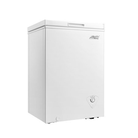 Arctic King 3.5 cu ft Chest Freezer, White Now $129.99 (Was $179.99)