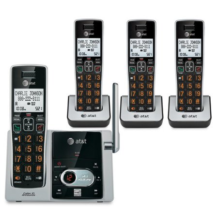AT&T DECT 6.0 Expandable Cordless Phone & Answering System Now $61.98