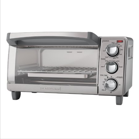 BLACK+DECKER 4-Slice Toaster Oven with Natural Convection Now $35.99
