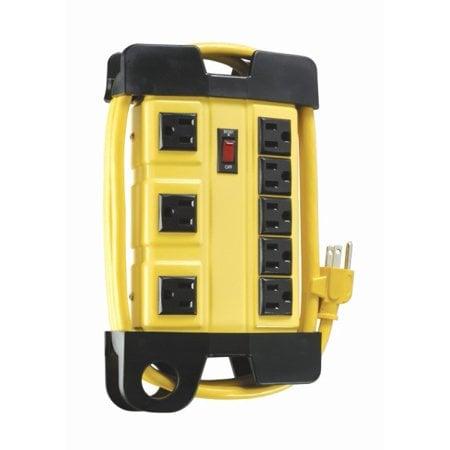 Coleman Cable 04644 4-Outlet GFCI Power Strip Now $15.10 (Was $30)