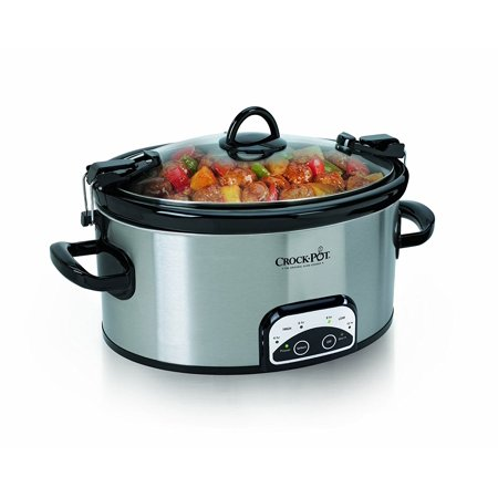 Crock-Pot 6-Quart Cook & Carry Programmable Slow Cooker Now $33.99 (Was $59.99)