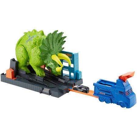 Hot Wheels Smashin' Triceratops Playset Now $11.65 (Was $26.99)