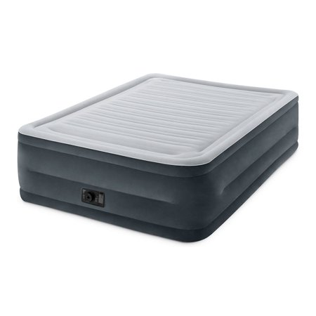 Intex Comfort Plush Dura-Beam Airbed with Internal Electric Pump Queen Now $36.99 (Was $74.99)