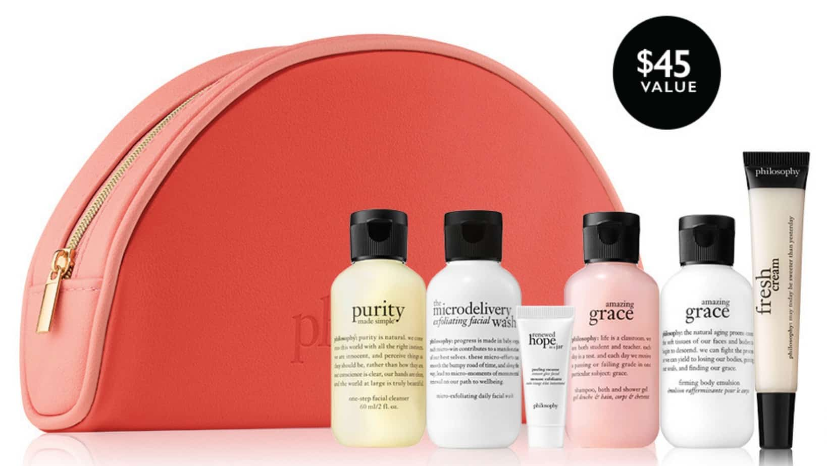 FREE 6 Piece Philosophy Gift Set w/ Any  Purchase ** Value**