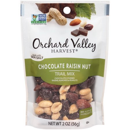 (Price/case)Orchard Valley V13438 14 Packs Of 2 Ounce Orchard Valley Harvest Chocolate Raisin Nut Trail Mix