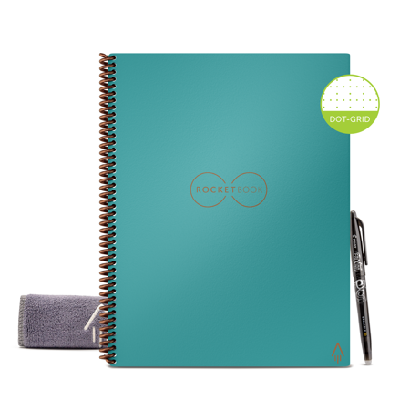 Rocketbook Smart Reusable Notebook with 2 Pilot Frixion Pens & Mini Size Now $29.98 (Was $48)