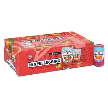 Sanpellegrino Pesca &Te Sparkling Organic Juice & Tea Beverage 24 Pack Now $8.69 (Was $14.08)