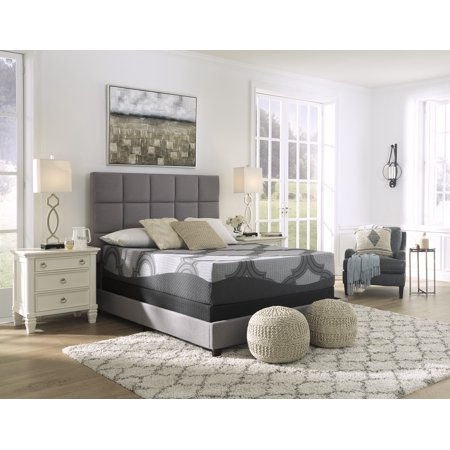 Signature Design by Ashley 12 inch Hybrid Luxury Firm Queen Mattress