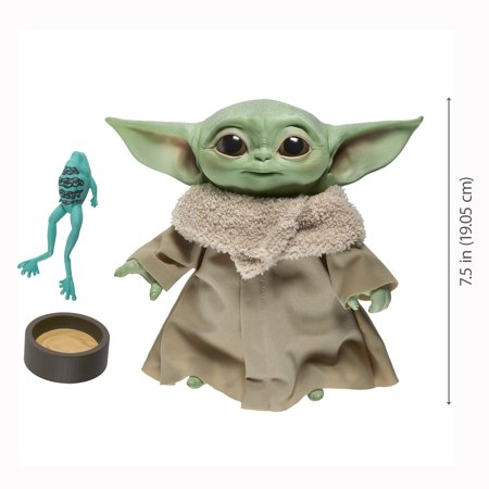 "Star Wars Baby Yoda ""The Child"" Talking Plush Toy Now $17.49"