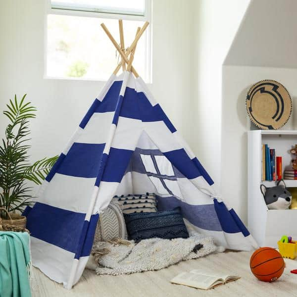 Kids Pretend Cotton Teepee Play Tent Now .99 Shipped (Was )