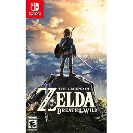 The Legend of Zelda: Breath of the Wild, Nintendo, Nintendo Switch, 045496590420