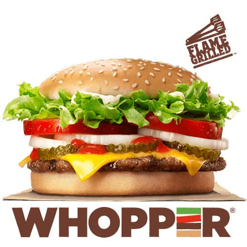 Free Whopper at Burger King for Picture of  Your Ex