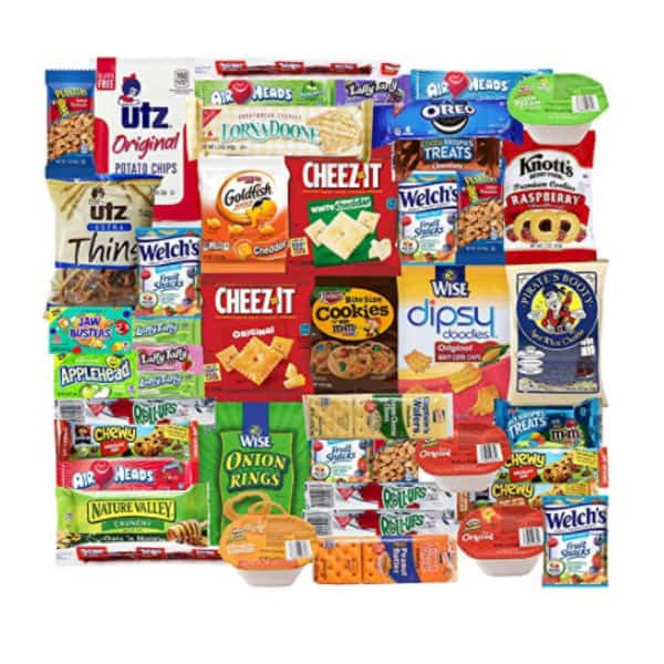 Blue Ribbon Care Package 45 Count Ultimate Sampler Now .99