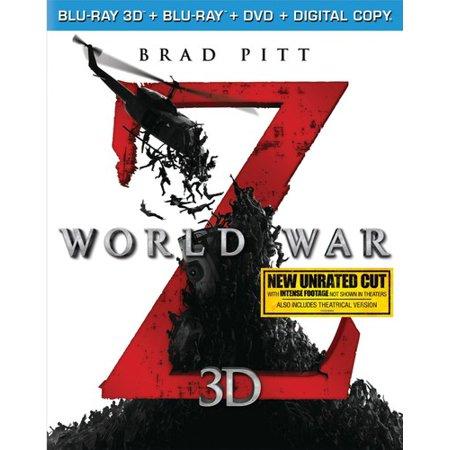 Amazon: World War Z Blu-ray Now $5.00 (Was $40)