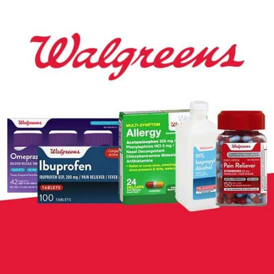 FREE Shipping on ANYTHING from Walgreens