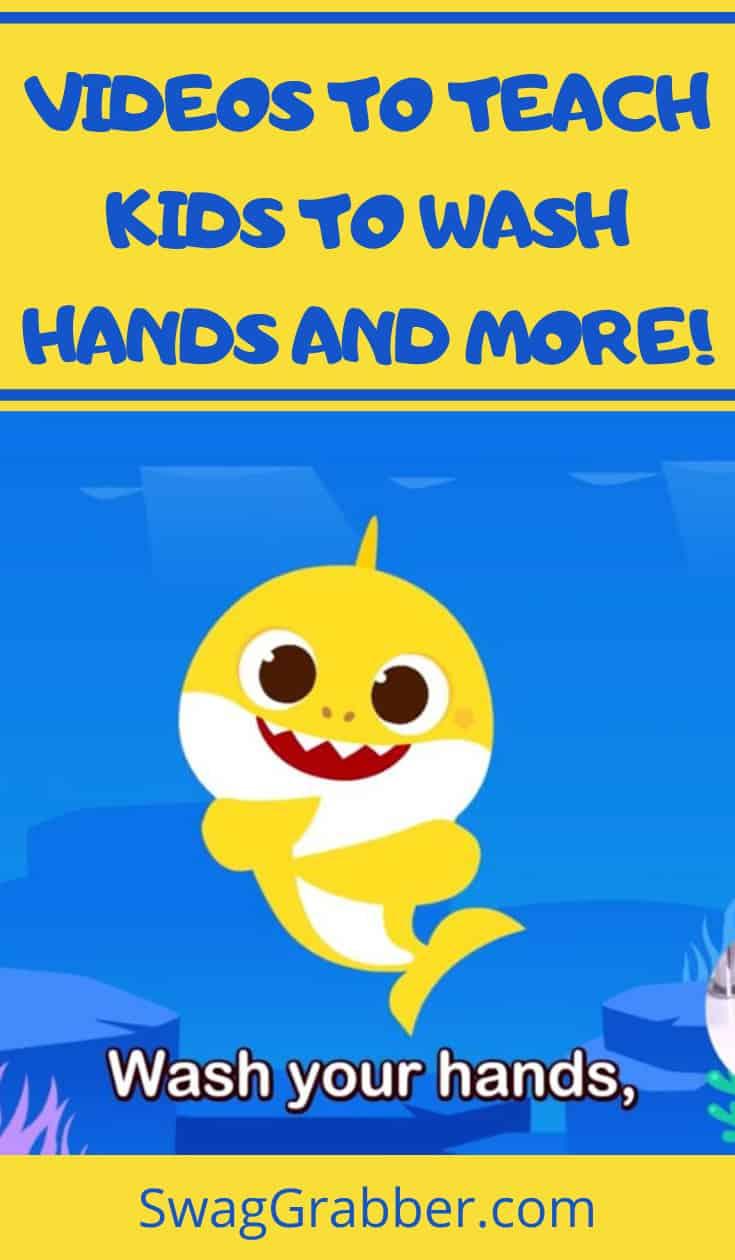 Cartoon Videos to Teach Kids to Properly Wash Hands