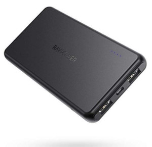 Portable Charger RAVPower 10000mAh Power Bank Now .99 (Was .99)