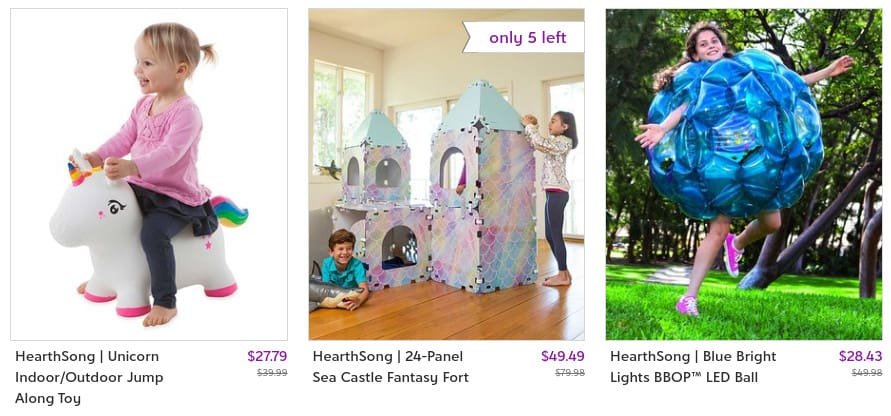 Fantasy Forts and Other Kid Activities on Zulily