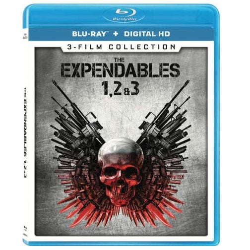 Expendables 1, 2, & 3 Collection on Blu-ray Now .99 (Was .99)