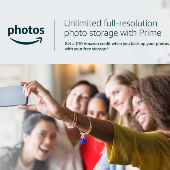 FREE  Credit When You Try Amazon Photos