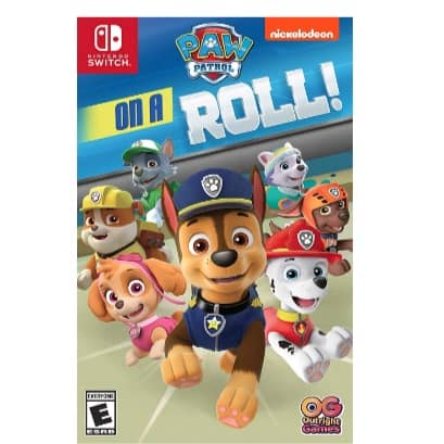 Paw Patrol On A Roll Nintendo Switch Now .99 (Was .99)