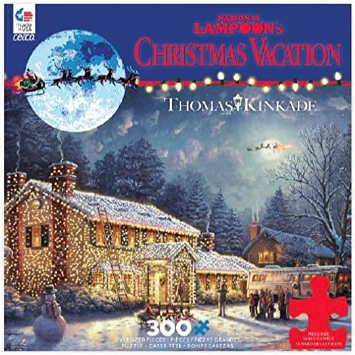 Ceaco Thomas Kinkade National Lampoon's Christmas Vacation Puzzle (300 Pieces) Now .88