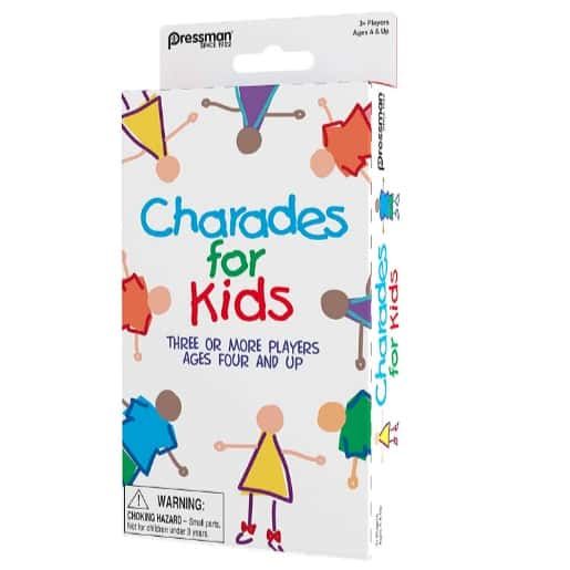 Pressman Charades for Kids - No Reading Required Family Game Now .97