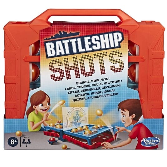 Hasbro Gaming Battleship Shots Now .19