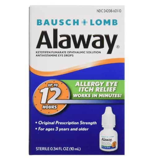 Alaway Antihistamine Eye Drops Now .61 (Was .90)