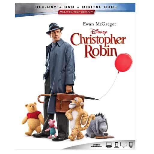 Disney Christopher Robin Blu-ray+DVD+Digital Now .96 (Was .99)