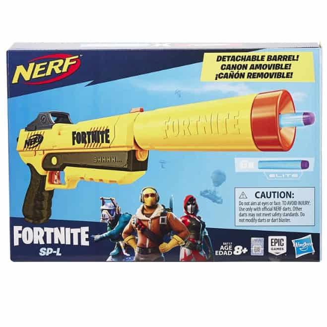 NERF Fortnite Sp-L Elite Dart Blaster Now .26