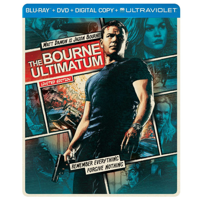 The Bourne Ultimatum Limited Edition Blu-ray Steelbook Now .00