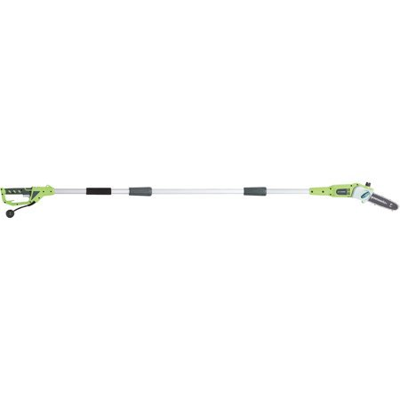 """Greenworks 8"""" 6.5 Amp Electric Corded Pole Saw Now $44.99 (Was $89.99)"""