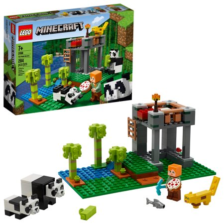 LEGO Minecraft The Panda Nursery 21158 (204 Pieces) Now $15.99 (Was $19.99)