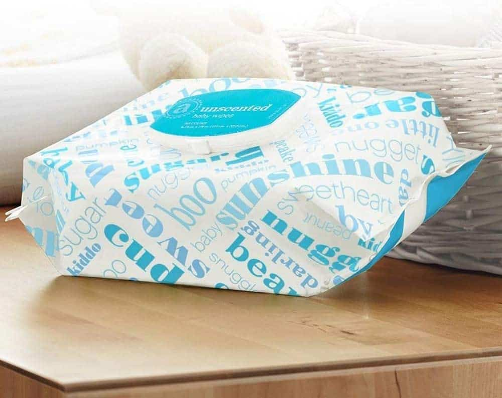 Amazon Elements Baby Wipes, Unscented, 720 Count Flip-Top Packs Now .99 **In Stock**