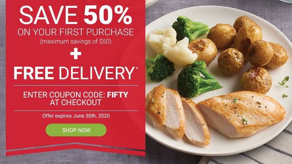 Schwan's Coupon Code   50% off for New Customers